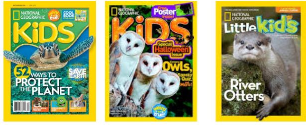 national geographic kids magazings